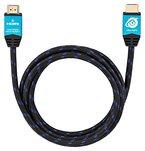 Ultra HDTV Premium 4K HDMI-Kabel 1 Meter / HDMI 2.0b, UHD bei vollen 60Hz (keine Ruckler), HDR, 3D