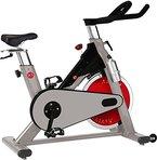AsVIVA S8 Pro Indoor Cycle Speed-Bike APP-Bluetooth kompatibel - ein Fitnessbike Heimtrainer & Fitnessgerät inkl. Multifunktionscomputer - Speedbike Fitnessrad mit Riemenantrieb das Triathlon Media Bike für das Workout Pulsmessung und Tablet & Smartphone Halterung