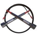 Speed Rope Springseil - High Speed Seil, Perfekt Für Double Unders - Optimal Für Crossfit - WODs - Boxtraining - MMA und Fitness - Lebenslange Garantie - Besser als Geld-Zurück-Garantie