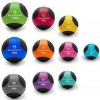 Medizinball »Medicus« / 1 - 10kg / Fitnessball / Gewichtsball / Leichte bis sehr schwere Gymnastikbälle in professioneller Studio-Qualität 3kg / magenta
