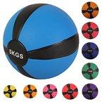 Medizinball Gewichtsball von POWRX 1 - 10 kg | versch. Farben (3 kg / Pink)