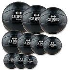 Medizinball K5, Gewichtsball, Medizinbälle, Crossfit Ball - Erhältlich: 1kg - 10kg (10-KG-schwarz)