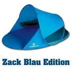 Outdoorer Pop up Strandmuschel Zack II blau, UV 60