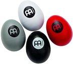 Meinl Percussion ES-SET Egg Shaker Set - 4-teilig, Rot, Schwarz, Weiß, Grau