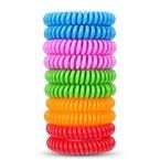 AcTopp Moskito Armband Anti-Mücken Repellent Inscet Gürtel für Outdoor und Innenschutz (10 Stück) (10 Stück)