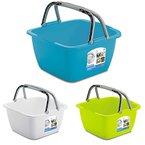 Waschschüssel 18-Liter Campingschüssel Spülschüssel Spüle Plastikschüssel Eimer