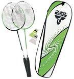 Talbot Torro Set Badminton-Schläger 2-Attacker im Thermobag (2014), Grün Weiß, 449511