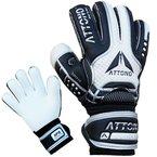 """Torwarthandschuhe """"POWER BLOCK"""" V01 Fingersave Torwart Handschuhe von ATTONO® Größe 10"""