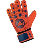 JAKO Kinder TW-Handschuhe Junior 3.0 Torwarthandschuh, Flame/Night Blue, 6