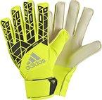adidas Kinder Ace Junior Torwarthandschuhe, Solar Yellow/Black, 5