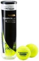 Tecnopro Tennis-Ball Champion Allcourt 4er Tennisbälle, Gelb, One Size