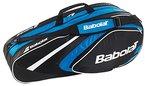 Babolat Schlägertaschen Racket Holder X6 Club Line, Blau, 74 x 24 x 33 cm, 40 Liter, 751079-136