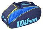 Wilson IV 12 Duffle Bag Blue/Yellow Tennistasche