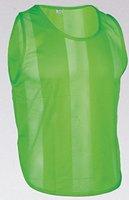 10x Markierungshemden/Trainingsleibchen 5 Farben - 3 Größen lieferbar (Grün, Senior)