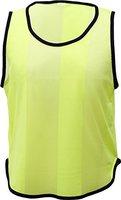 Cawila Erwachsene Kennzeichnungshemd Trainingsleibchen 10er, Gelb, L, 01280237 (Senior)