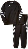 adidas Unisex - Kinder Trainingsanzug Sere14 Sweat Y, schwarz/weiß, 164, F81932