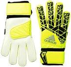 adidas Torwarthandschuhe Ace Fingersave Handschuhe, Solar Yellow/Black/Onix, 11