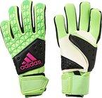 adidas Herren Torwarthandschuhe Ace Zones Pro, Solar Green/Core Black/Shock Pink S16, 8, AH7803