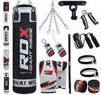 RDX 13 Teiliges Sandsack Set mit Deckenhalterung Sandsackset, Schwarz, 5 ft