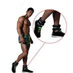 Gewichtsmanschetten 2 kg (Paar) Fuß + Hand-Gewichte *einstellbar* Laufgewichte