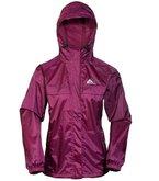 Cox Swain 2-Lagen Damen Outdoor Funktions Regenjacke - 3.000mm Wassersäule -3.000mm Atmungsaktivität, Farbe: Berry, Größe: XL