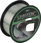 """Specitec """" Hecht """" SchnurØ 0,35mm -Farbe: Light Green Transparent - Angelschnur monofil Zielfischschnur"""