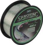 """Specitec """" Hecht """" SchnurØ 0,32mm -Farbe: Light Green Transparent - Angelschnur monofil Zielfischschnur"""