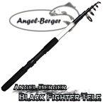 Angel Berger Black Fighter Tele Teleskoprute Spinnrute (2.10m)