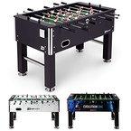 Hop-Sport Tischkicker EVOLUTION Tischfußball Fußballtisch in 3 Farbvarianten (Schwarz)