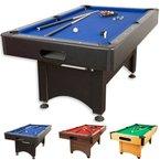 Pool Billard Billardtisch Trendline, verschiedene Farbvarianten, 5 ft, massive Ausführung + Zubehör