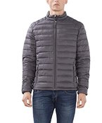 edc by ESPRIT Herren Jacke 086CC2G002, Grau (Grey 030), Medium