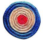 unbekannt Bogensport-zubehör Strohzielscheibe Gesamtlänge - 65.0 cm Durchmesser, mehrfarbig, One Size, 425165
