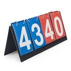 Gogo 4-digital Tragbarer Tisch Top Anzeigetafel/Score Flipper 0-99