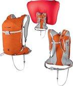 Mammut Lawinenrucksack Ultralight Removable Airbag, Dark Orange, 25 x 20 x 50 cm, 20 L, 2610-01170-2088-1020