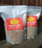 Biotin 2000 für Ihr Pferd 3,0 kg (2 x 1,5 kg Aromabeutel), Versandkostenfrei!