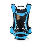 Lixada 12L Wasserabweisend Fahrrad Schulter Rucksack Wasser Reisetasche Ultralight für Radsport Outdoor Reiten Bergsteigen Hydration