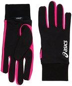 Asics Basic Gloves Rosa Pink Glow L