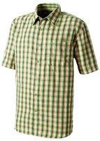 Odlo Herren Hemd Sportswear Shirt Short Sleeve Zone, Check_Dry Classic Green, S, 522792