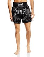 Everlast Erwachsene Hose Thai Boxing Short, Black, L, EM6