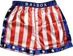 Rocky Balboa Apollo Film Box Amerikanische Flagge kurz (Small)