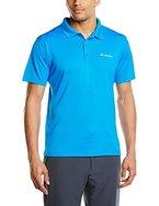 Columbia Herren Poloshirt Zero Rules, Hyper Blue, L, AM6082-431-L