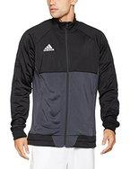 adidas Herren Tiro 17 Trainingsjacke, Black/Dark Grey/White, M