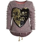 Mädchen Kinder Winter Strick Pullover Pulli Hoodie Hoody Sweat Shirt Jacke 20679, Farbe:Rosa;Größe:140