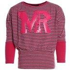 Mädchen Bluse Shirt Pullover Langarmshirt Longsleeve Sweatshirt T-Shirt 20464, Farbe:Pink;Größe:116