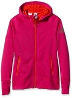 adidas Mädchen Kapuzenjacke Climawarm Daybreaker, Bold Pink, 164, AB9512