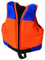 SIMA by Fashy Kinder Schwimmweste, orange-blau, S, 8363 S
