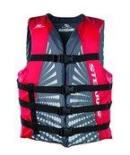 Stearns Jungen Schwimmweste Bekleidung, grau/rot, Gr. S
