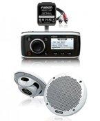 Fusion MS-RA50 Marine Radio mit iPod/iPhone Anschluss Komplettset
