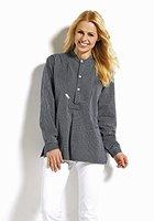 Fischerhemd Basic, Herren, XL, schmaler Streifen