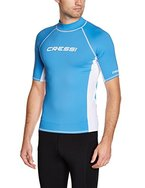 Cressi Herren Rash Guard UV Sun Protection (UPF) 50, Ärmel Kurze 56 (XXL/6)